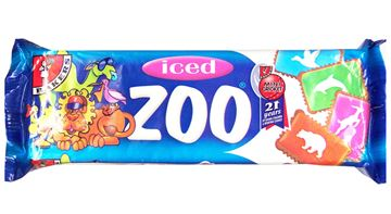 Picture of Bakers Iced Zoo Biscuits