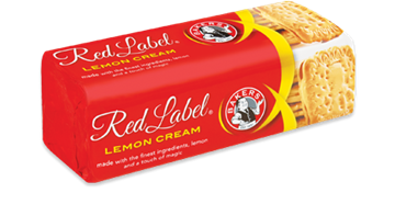 Picture of Bakers Red Label Lemon Cream Biscuits