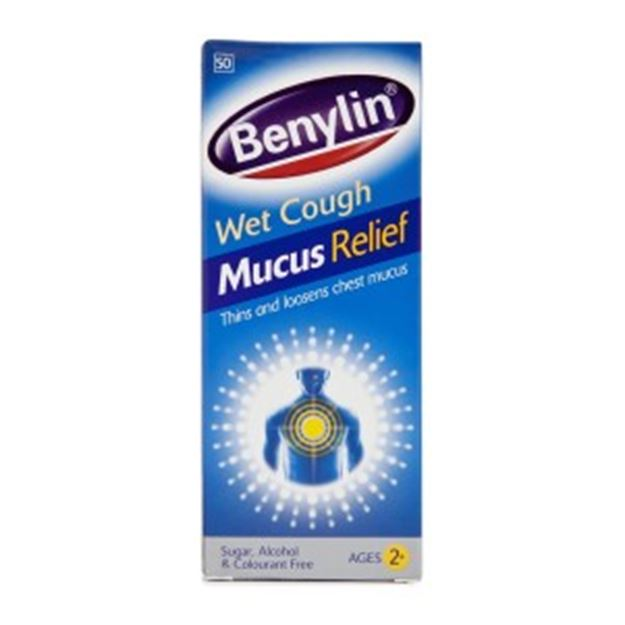Picture of Benylin cough syrup (Codeine)