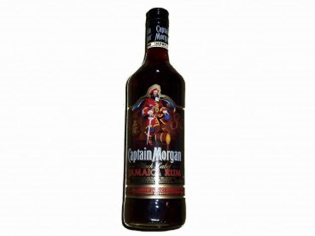 Picture of Captain Morgan Black Label Rum