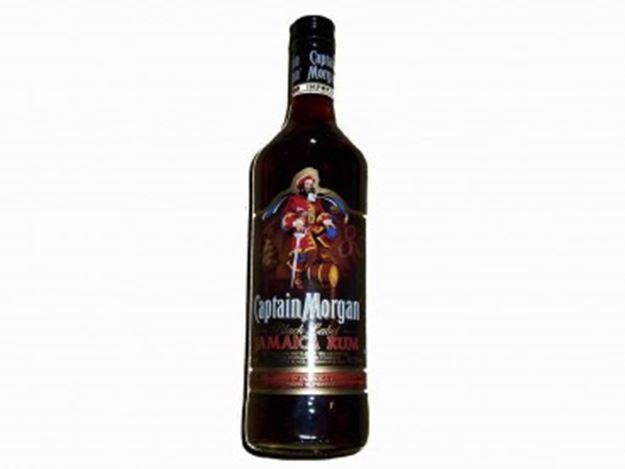Picture of Captain Morgan Black Label Rum