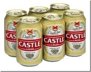 Picture of Castle Lager Beer 340 ML
