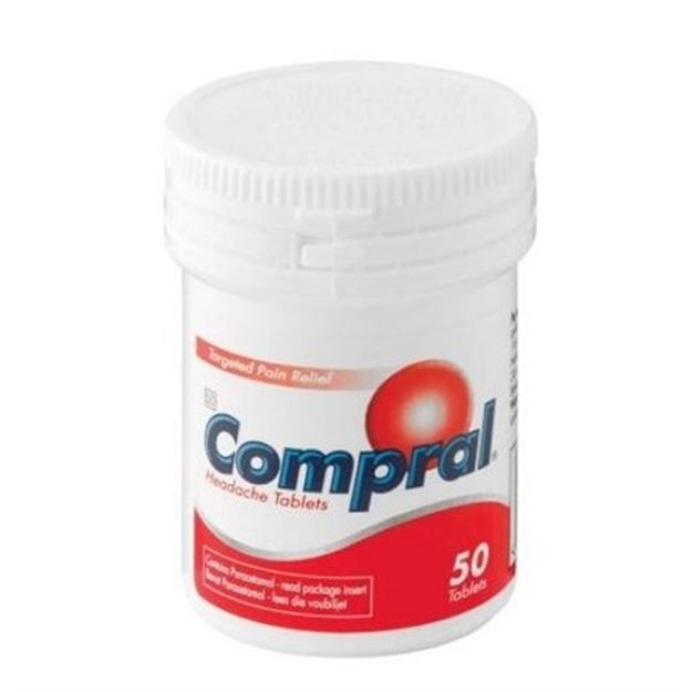 Picture of Compral Headache Tablets