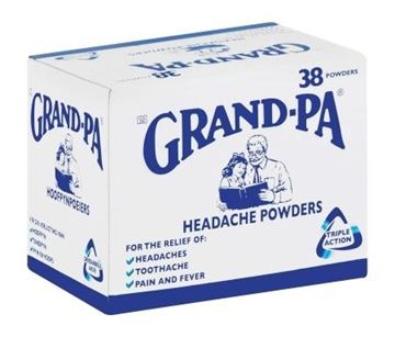 Picture of Grandpa Headache Powder - 38 Sachets