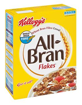Picture of Kellogs All Bran Flakes