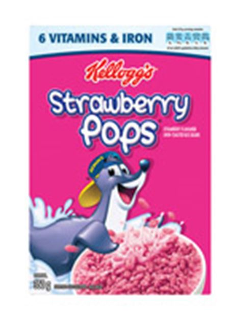 Picture of Kellogs Strawberry Pops