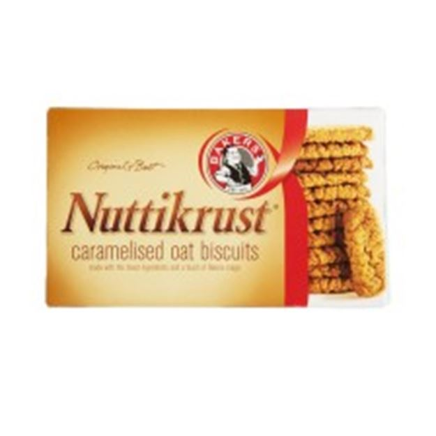 Picture of Nuttikrust Caramelised Oat Biscuits