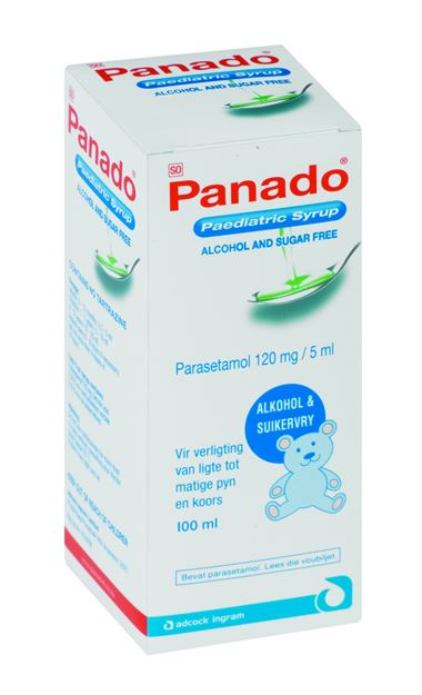 Picture of Panado Paediatric Syrup