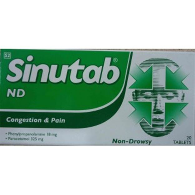 Picture of Sinutab Non Drowsy