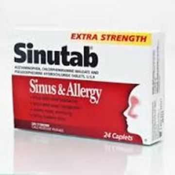 Picture of Sinutab Sinus Pain Extra Strength