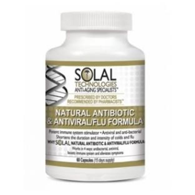 Picture of Solal Natural Antibiotic and Anti-Viral-Flu Formula
