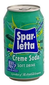 Picture of Sparletta Creme Soda