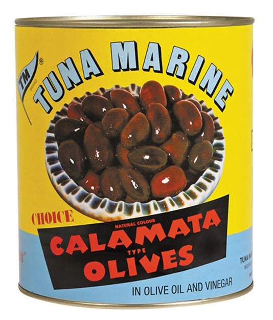 Picture of Tuna Marine Calamata Olives In Tin