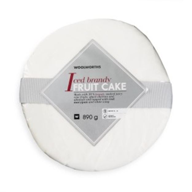 Picture of Woolworths Iced Fruit Cake