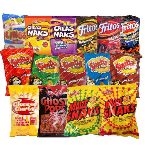 Picture for category Chips and Sweet Snacks