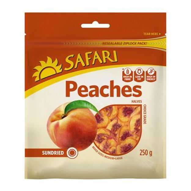 Picture of Safari Cling Peaches Choice 250g