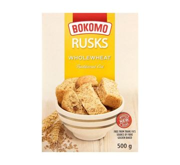 Picture of Bokomo Wholeweat Rusks