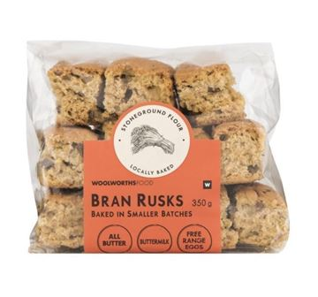 Picture of Woolworths Bran Rusks